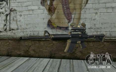M4 from Hitman 2 para GTA San Andreas