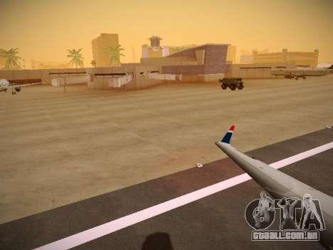 Bombardier CRJ-700 US Airways Express para o motor de GTA San Andreas