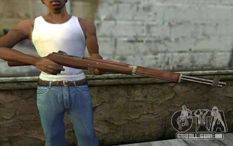 M1 Garand from Day of Defeat para GTA San Andreas terceira tela