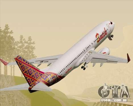 Boeing 737-800 Batik Air para GTA San Andreas