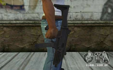 CZ-3A1 Scorpion (Bump Mapping) v4 para GTA San Andreas terceira tela