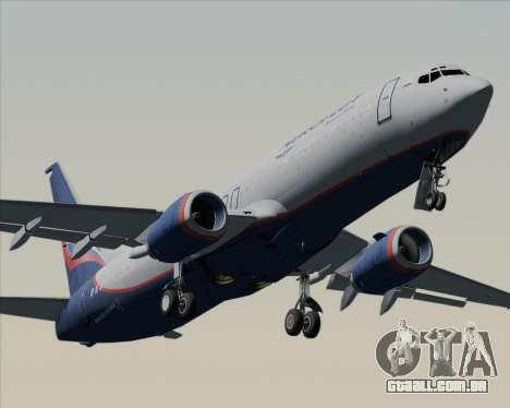 Boeing 737-8LJ Aeroflot - Russian Airlines para o motor de GTA San Andreas