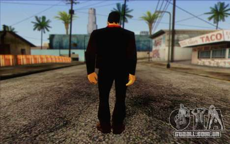 Yakuza from GTA Vice City Skin 1 para GTA San Andreas segunda tela