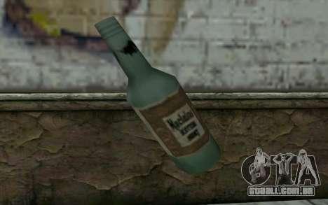Uma garrafa de cerveja para GTA San Andreas segunda tela