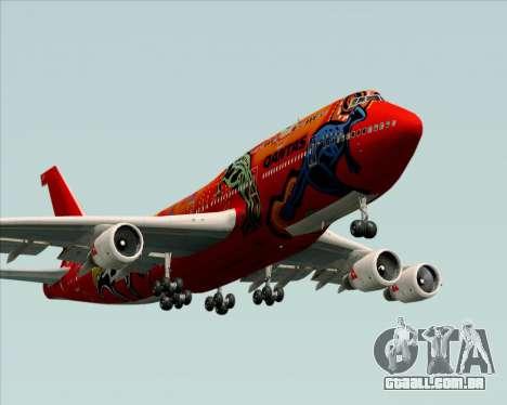 Boeing 747-400ER Qantas (Wunala Dreaming) para o motor de GTA San Andreas