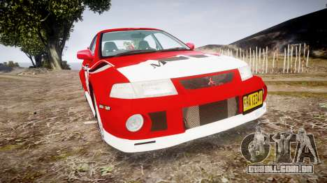 Mitsubishi Lancer Evolution VI Rally Marlboro para GTA 4