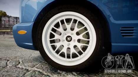 Bentley Arnage T 2005 Rims2 Black para GTA 4 vista de volta