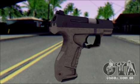 Walther P99 Bump Mapping v1 para GTA San Andreas segunda tela