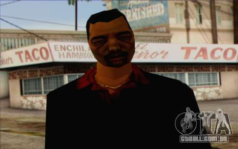 Yakuza from GTA Vice City Skin 1 para GTA San Andreas terceira tela
