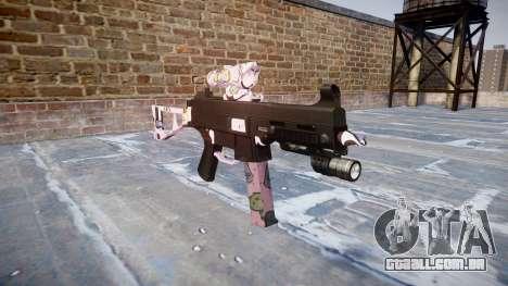 Arma UMP45 Kawaii para GTA 4