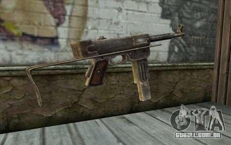 MAT-49 from Battlefield: Vietnam para GTA San Andreas segunda tela