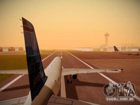 Airbus A321-232 jetBlue Do-be-do-be-blue para as rodas de GTA San Andreas
