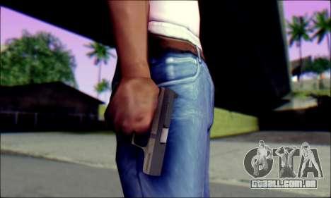 Walther P99 Bump Mapping v1 para GTA San Andreas terceira tela