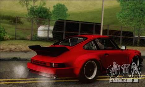 Porsche 930 Turbo Look 1985 Tunable para vista lateral GTA San Andreas