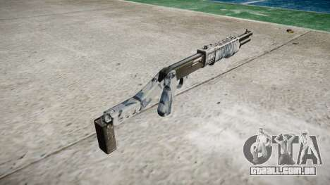 Ружье Franchi SPAS-12 Crânios para GTA 4 segundo screenshot
