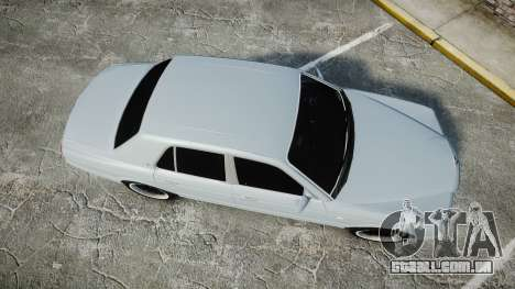 Bentley Arnage T 2005 Rims1 Chrome para GTA 4 vista direita