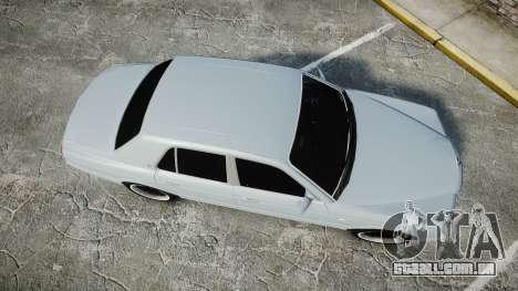 Bentley Arnage T 2005 Rims1 Chrome para GTA 4 vista direita