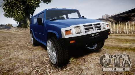 Mammoth Patriot DUB para GTA 4