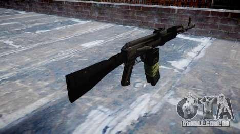 Kalashnikov 101 para GTA 4 segundo screenshot