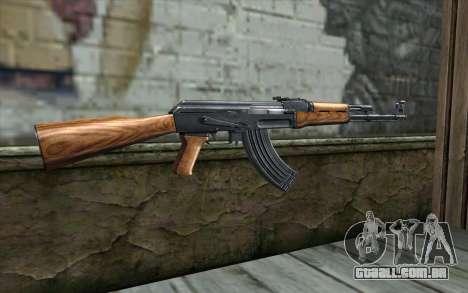AK47 from Killing Floor v1 para GTA San Andreas segunda tela