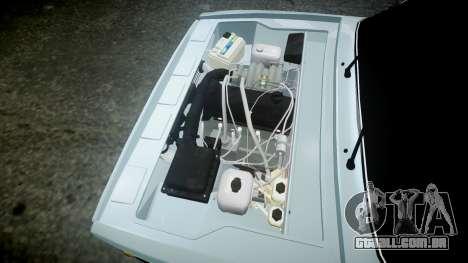 VAZ-21054 para GTA 4 vista lateral