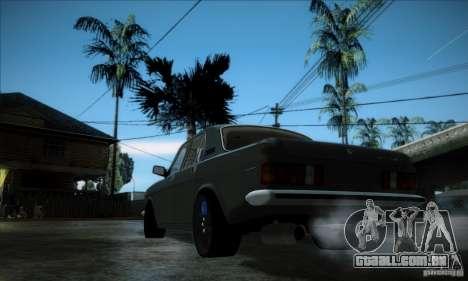 GÁS 24 para GTA San Andreas esquerda vista