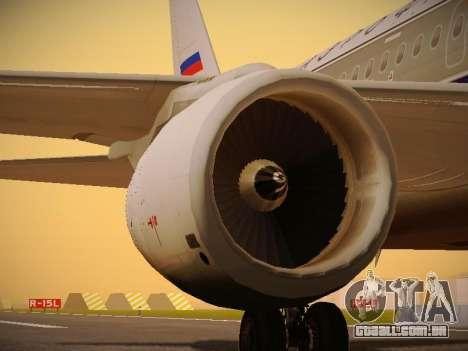 Airbus A320-214 Aeroflot Retrojet para o motor de GTA San Andreas