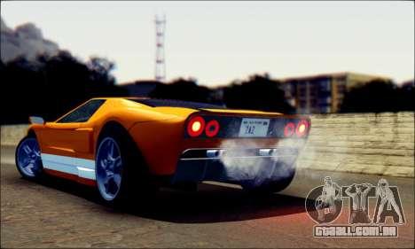 Vapid Bullet GTA 5 para GTA San Andreas esquerda vista