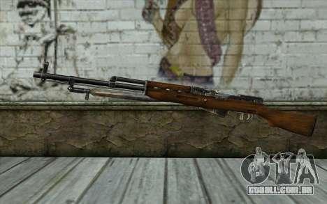 СКС (Battlefield: Vietnam) para GTA San Andreas