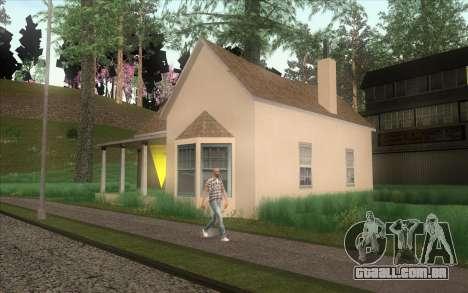 Novo CJ casa em Angel Pine para GTA San Andreas por diante tela