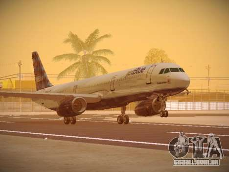 Airbus A321-232 jetBlue Airways para GTA San Andreas