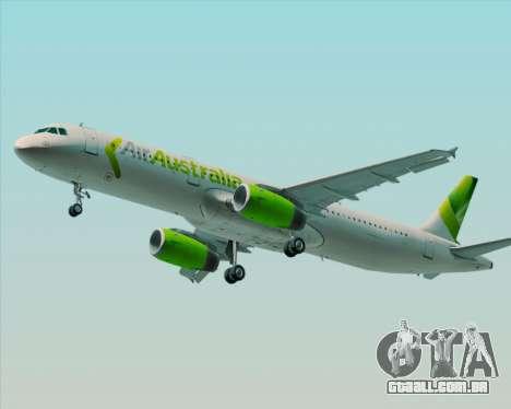 Airbus A321-200 Air Australia para as rodas de GTA San Andreas