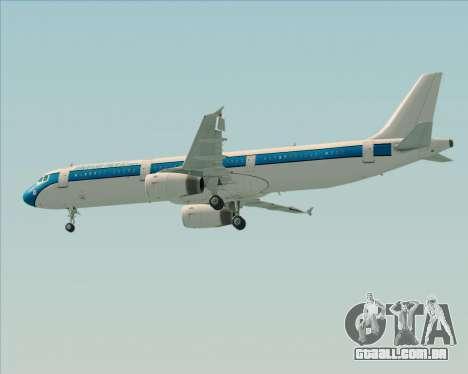 Airbus A321-200 American Pacific Airways para o motor de GTA San Andreas