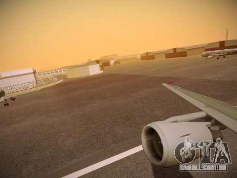Airbus A320-214 Aeroflot Retrojet para as rodas de GTA San Andreas