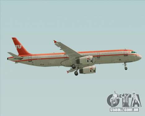 Airbus A321-200 LTU International para as rodas de GTA San Andreas