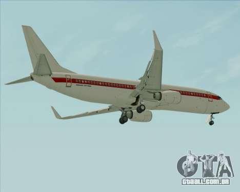 Boeing 737-800 EG&G - Janet para as rodas de GTA San Andreas