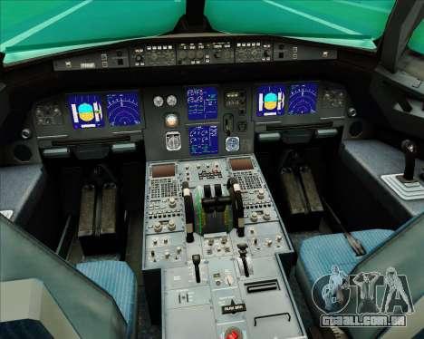 Airbus A321-200 Aer Lingus para GTA San Andreas interior