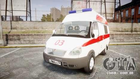 GÁS-32214 Ambulância para GTA 4