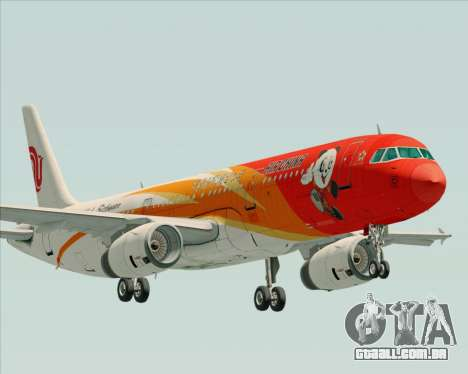 Airbus A321-200 Air China (Beautiful Sichuan) para GTA San Andreas