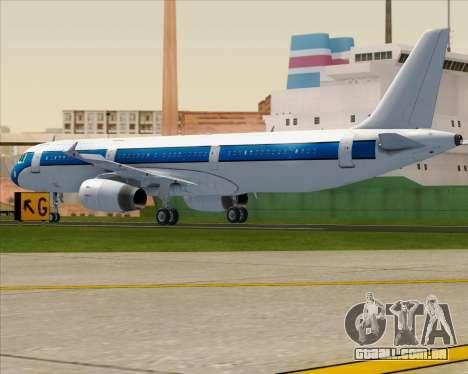 Airbus A321-200 American Pacific Airways para GTA San Andreas vista direita