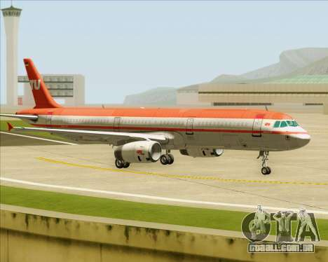 Airbus A321-200 LTU International para o motor de GTA San Andreas