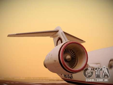 Bombardier CRJ-700 Horizon Air para o motor de GTA San Andreas