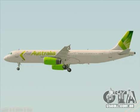 Airbus A321-200 Air Australia para o motor de GTA San Andreas