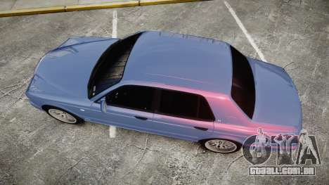 Bentley Arnage T 2005 Rims2 Black para GTA 4 vista direita