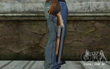 Sawn Off Shotgun from Beta Version para GTA San Andreas terceira tela