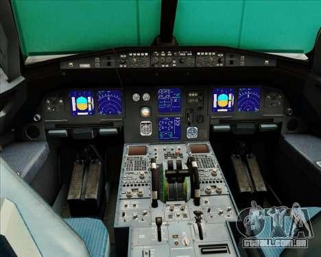 Airbus A321-200 Austrian Airlines para GTA San Andreas interior