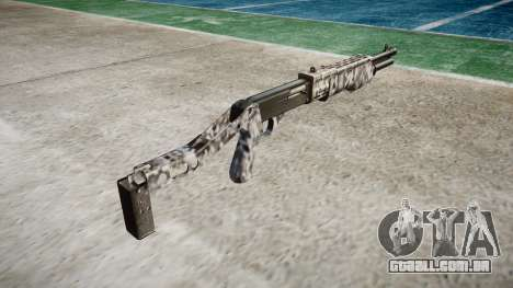 Ружье Franchi SPAS-12 de Diamante para GTA 4 segundo screenshot