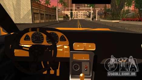 Elegy Team DriftMonkey para GTA San Andreas traseira esquerda vista