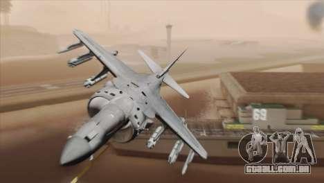 EMB AV-8 Harrier II USA NAVY para GTA San Andreas