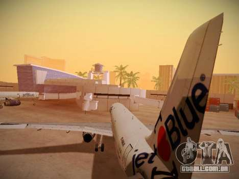 Airbus A321-232 jetBlue I love Blue York para GTA San Andreas